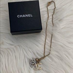 Chanel cc logo vintage necklace